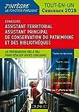 Concours Assistant territorial de conservation du patrimoine et des bibliothèques - Tout en un - Concours 2019 (2019)