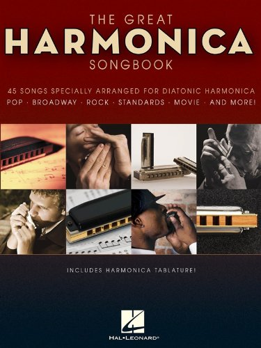 The Great Harmonica Songbook. Partituras para Armónica