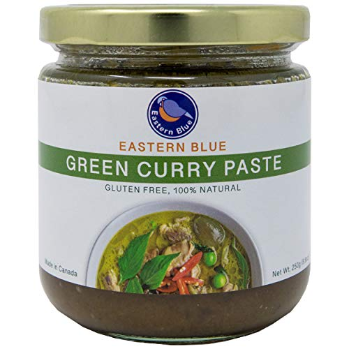 Eastern Blue Curry Paste - Thai Green Curry Paste is Vegan, Gluten Free, Dairy Free, Nuts Free with No Preservatives. Make Authentic Thai Curry and variety of meals (Pack of 2)