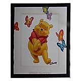 Compatible avec Tableau Petit Gourou et Lumpy Disney Winnie l'ourson Cadre 23 x 23 cm