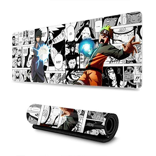 Naruto Custom Mouse Pad Anime Mouse Mat Home Office Computer Gaming Mousepad
