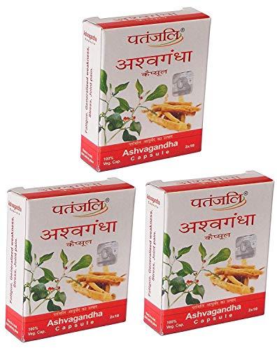 Baba Ramdev - Patanjali Ashwagandha (Winter Cherry) 60 Veggie Capsule