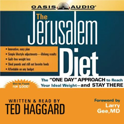 The Jerusalem Diet audiobook cover art
