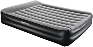 AmazonBasics Pillow Rest Single Size Premium Airbed with Built in Air Pump (EU)