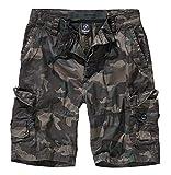 Brandit Ty Shorts Pantalones Cortos Camuflaje Oscuro 3XL