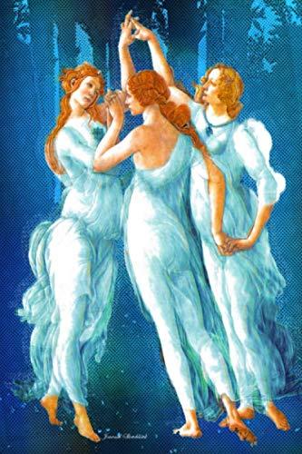 Sketchbook Journal: Sketchbook For Drawing: Sandro Botticelli Composition Notebook: Venus Three Graces Blank Paper