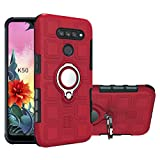 LFDZ Compatible with LG K50 Case,360 Degree Rotating [Ring