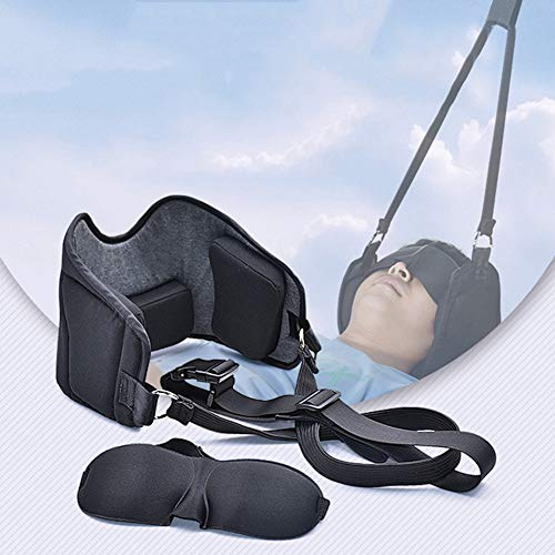 Hammock for Neck Durable Portable Head Hammock to Cervical Neck Traction & Relaxation Sling Self Massager for Stressless Neck to Reduce Neck Pain, Shoulder Pain, Headache