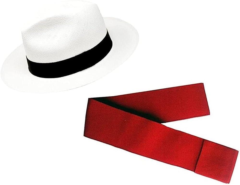 Gamboa - Genuine White Panama Linen price Fedora + Hat Band 67% OFF of fixed price