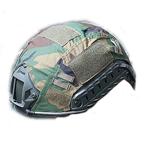 WorldShopping4U tactique Airsoft casque de chasse de style militaire Coque arrière Pochette, WLD