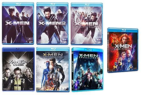 X-Men Complete Collection (7 film in BLU-RAY) Edizione Italiana