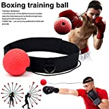 luoOnlineZ Reflex Ball Kidte Training Head-Mounted Boxing Portable Raising Reaction Force -