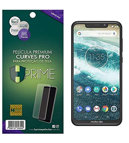 Pelicula HPrime Curves Pro para Motorola One Power, Hprime, Película Protetora de Tela para Celular, Transparente