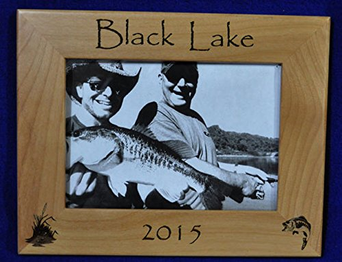 Time sale Fishing Picture Frame Memories Gifts Engra Brand Cheap Sale Venue