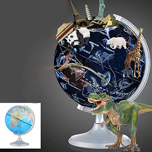 Smart AR World Globe Wissenschaftliche Kinder Globe Lampe Explorer AR Bildungswelt Geographie für Kinder Home Decor und Office Desktop Geschenk