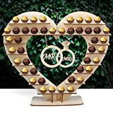 Hershey Kisses - Soporte de chocolate, diseño de Hershey Kisses para boda, decoración perfecta para la recepción de la boda