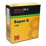 Kodak Txr-464TRI-X Noir et Blanc de Polarités, Silent Super 8Film, 15,2m...