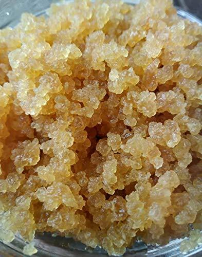 RawCultures® - Grains de kéfir d'eau certifiés bio - probiotiques vivants - cristaux japonais - kit de démarrage souche - Lot XXL de 50g