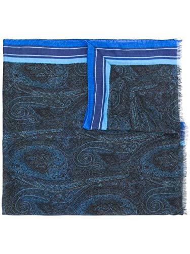 Etro Luxury Fashion Herren 1000750200200 Blau Modal Schal   Frühling Sommer 20