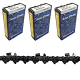 Set of 3 Husqvarna OEM 24' Skip Tooth Chain 3/8' .050' H47S-84 501842784