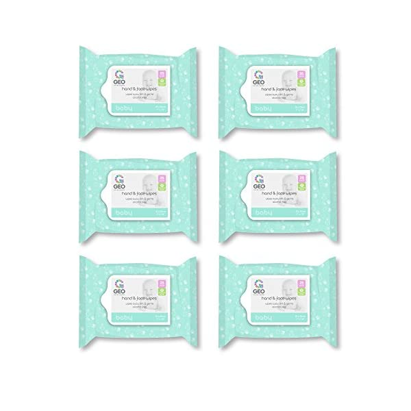 Antibacterial Hand Wipes Baby Hand and Face Wipes | for Baby Hands and Faces | Enriched with Aloe Vera | Moisturizing