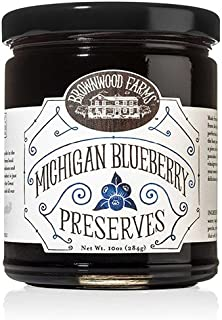 Michigan Blueberry Preserves by Brownwood Farms (10 ounce)