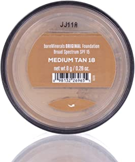 Bare Escentuals BareMinerals Original SPF 15 Foundation - # Medium Tan - 8g/0.28oz