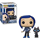Funko Pop Animation : Coraline - Coraline with Cat 3.75inch Vinyl Gift for Anime Fans SuperCollectio...