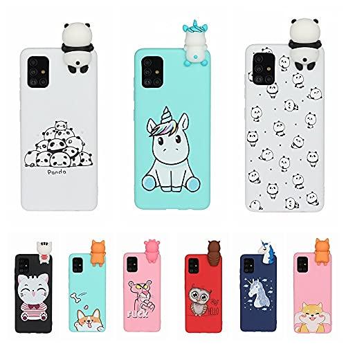 Aplicar a la funda del teléfono 3D para el iphone 11 pro max 5 5s se 2020 6s 7 8 plus x xr xs caso para Samsung Note 20 ultra a21s a51 a71 s20 plus fundas