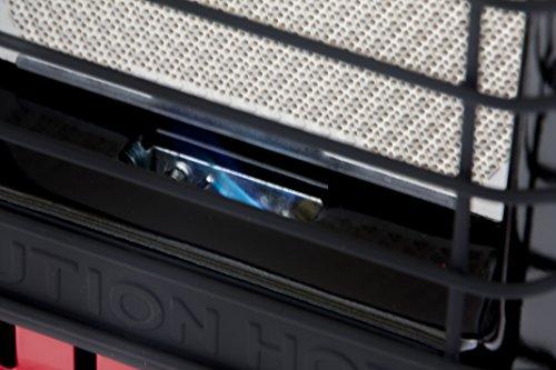 Mr. Heater Portable Buddy Gasheizung inkl. Adapter für Gaskartuschen mit 7/16-Gewinde; - 10