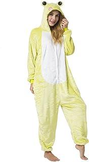 c5d1107a75d0f Katara 1744 - Grenouillère Combinaison pour Adultes Tenue de Nuit Pyjama  Kigurumi - Taille M