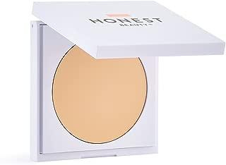 Honest Beauty Everything Cream Foundation, Snow | Demi-Matte, Lightweight, Medium-to-Full Coverage | Talc Free, Dermatologist Tested, Cruelty Free | 0.31 oz.