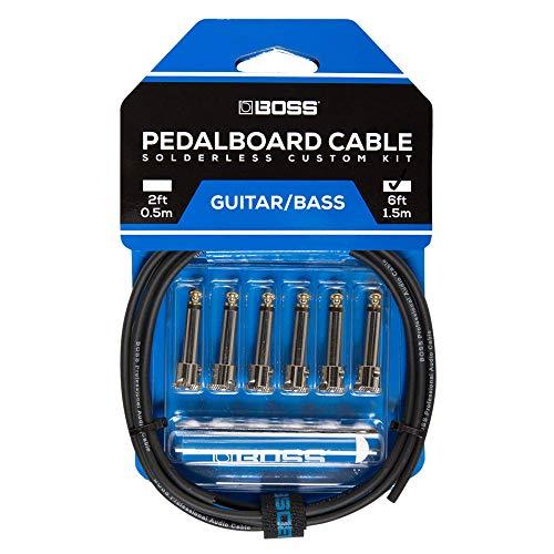 Boss BCK-6 Pedal Board Cable, Kit di Cavi per la Pedaliera