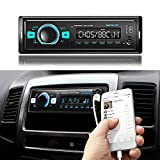 FM/DAB/DAB+ tuner lets Car Stereo - Single Din LCD Bluetooth Audio and Hands-Free Calling, MP3/USB, Aux-in, AM Radio Receiver