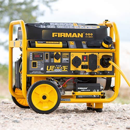 Firman P03612  Remote Start Gas Portable Generator