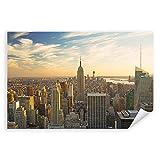 Postereck - 0801 - Skyline New York, Amerika Empire State