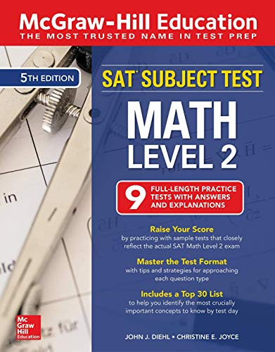 Download McGraw-Hill Education SAT Subject Test Math Level 2, Fifth Edition 1260135403