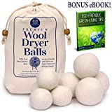 ECO BLVD® Premium Wool Dryer Balls for Laundry – Natural and Gentle Fabric