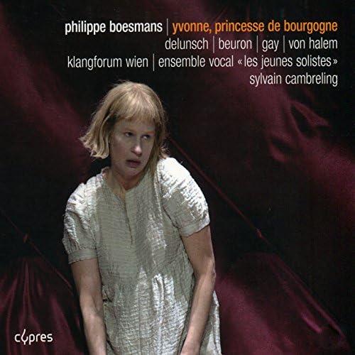 Dörte Lyssewski, Ensemble vocal Les jeunes solistes, Klangforum Wein, Paul Gay, Mireille Delunsch, Yann Beuron & Victor von Halem