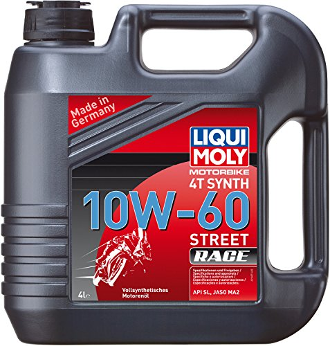 LIQUI MOLY 1687 Racing Synth 4T Motoröl 10 W-60