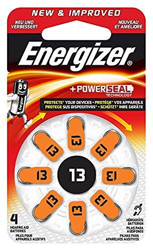 Energizer Hörgerätebatterien 13, EZ Turn & Lock, 8 Stück