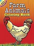 Farm Animals Coloring Book (Dover Little Activity Books)