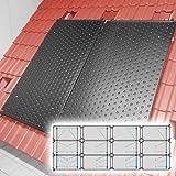 SAXONICA - Riscaldamento a energia Solare per Piscine, riscaldatore HelioPool®, 4 x 3 Pezzi, in Formato Orizzontale, 14,4 mq
