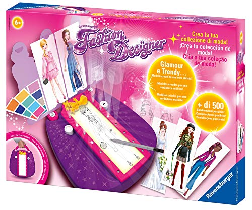 Ravensburger- Fashion Designer, Multicolore, 18057