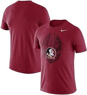 Nike Florida State Seminoles Football Icon Performance T-Shirt - Garnet