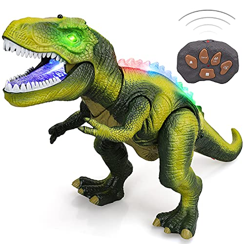STEAM Life Remote Control Dinosaur Toys for Kids 3 4 5 6 7+ Light Up &...