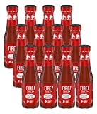 Taco Bell Sauce,fire, 7.5 Ounce, (Pack of 12)