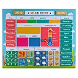 My First Daily Magnetic Calendar | Weather Station for Kids | Moods and Emotions | Preschool Learning Toys |...