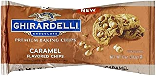 premium caramel baking chips 10oz ghirardelli