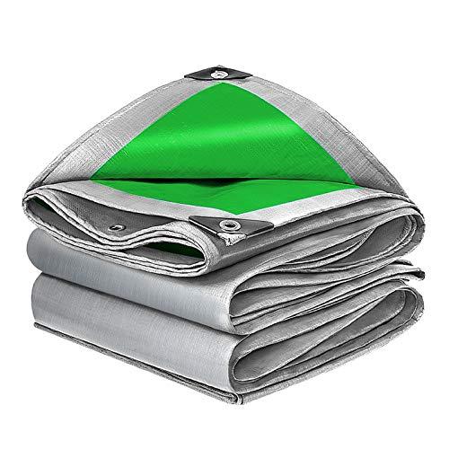 LWZ Hochleistungs-Plane Wasserdichtes Planenblatt mit verstärkten Ösen, Mehrzweckplanen für Möbelabdeckung für Campingplätze im Freien